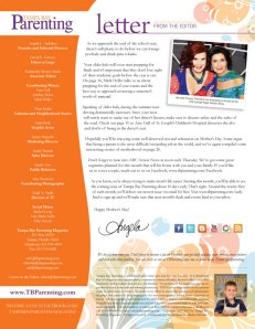Princess-Theodora-Tampa Parenting Letter